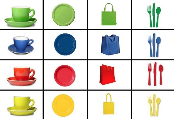 Học liệu xếp hình nhận biết phân biệt màu sắc